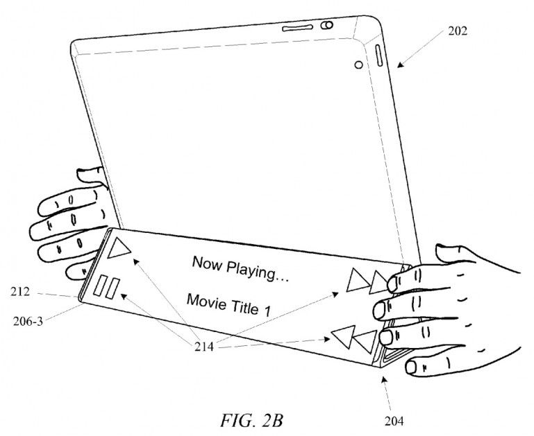 Apple smart cover patent application hints at secondary