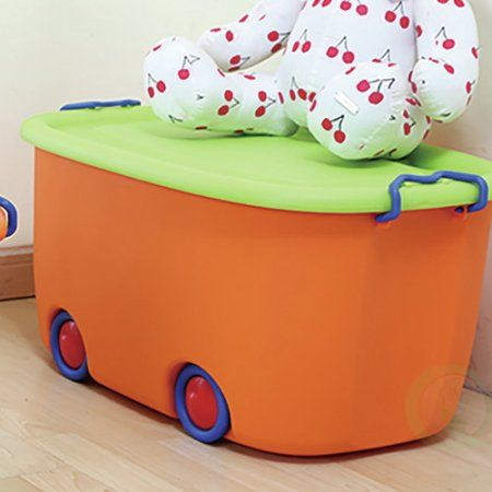 Basicwise Stackable Storage Toy Box