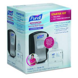 Purell Fragrance Free Hand Sanitizer Foam 1305d4 Hand Sanitizer
