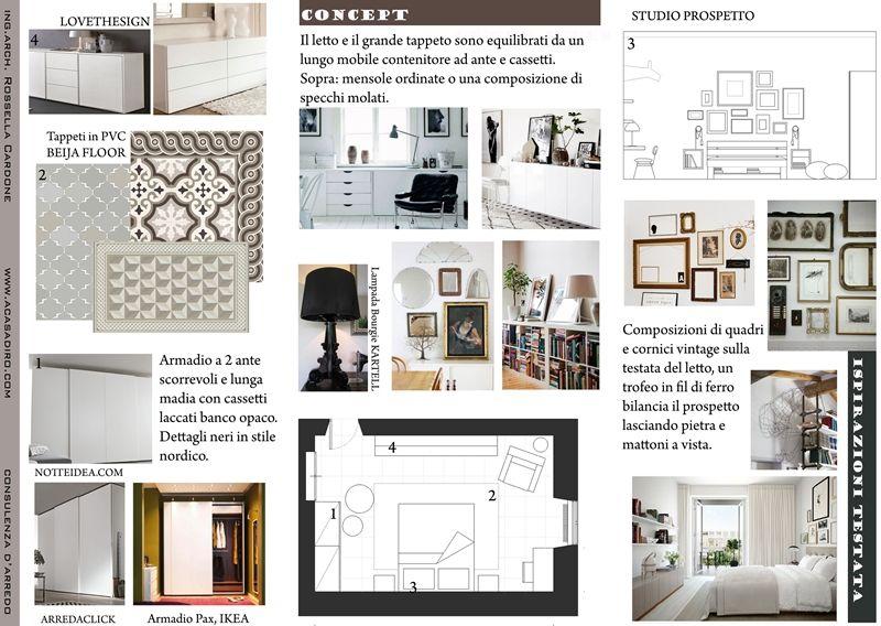 Progetto di arredo in stile nordico a casa di ro idee for Progetti d arredo