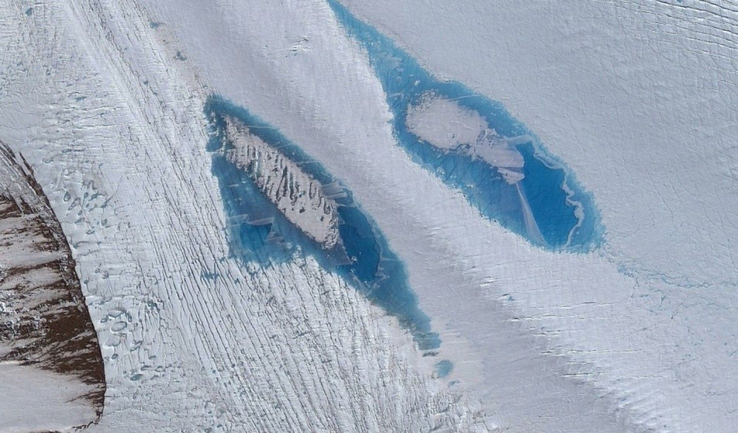 Draining lakes in Antarctica sounds all too reminiscent of what's driving ice…