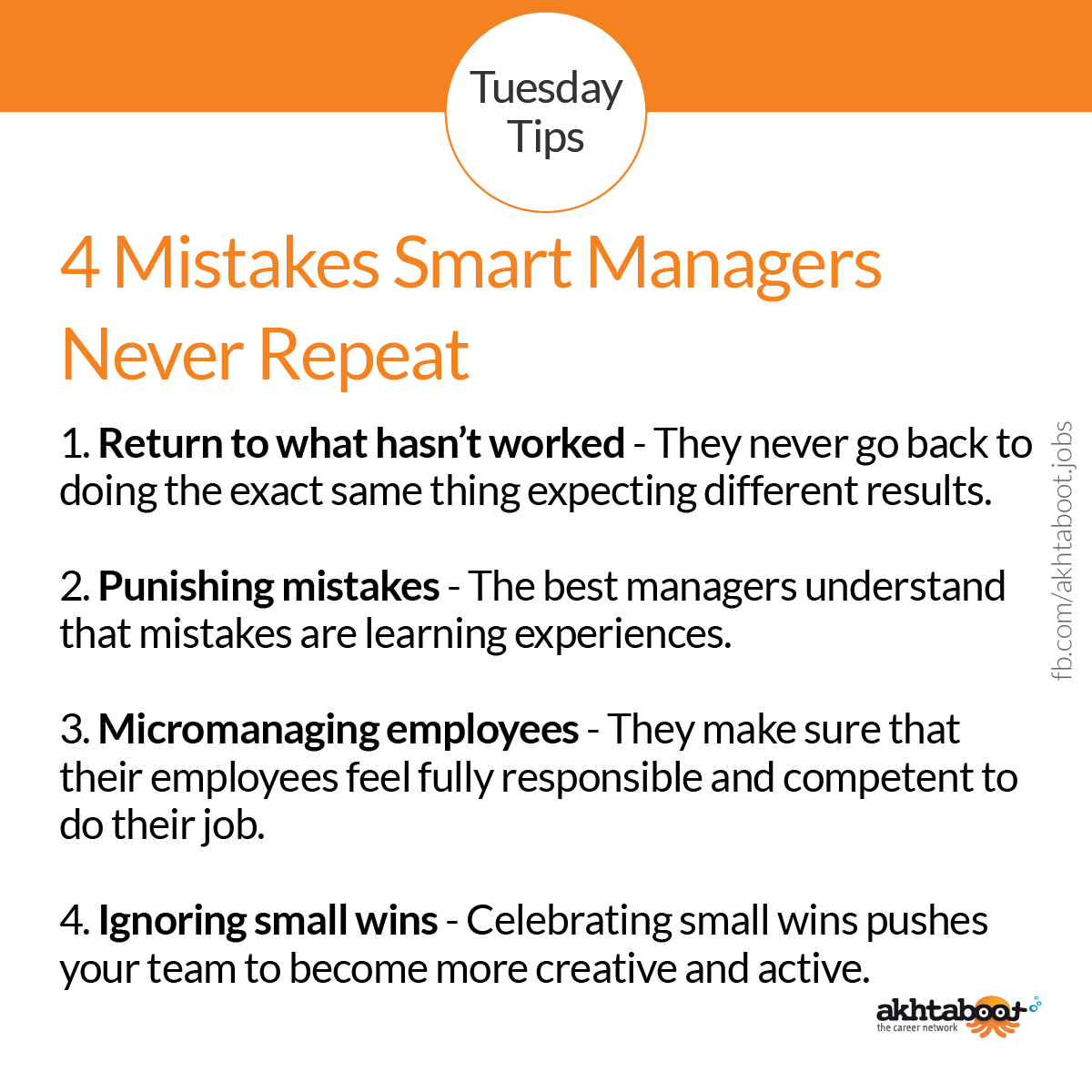 4 Mistakes Smart Managers Never Repeat