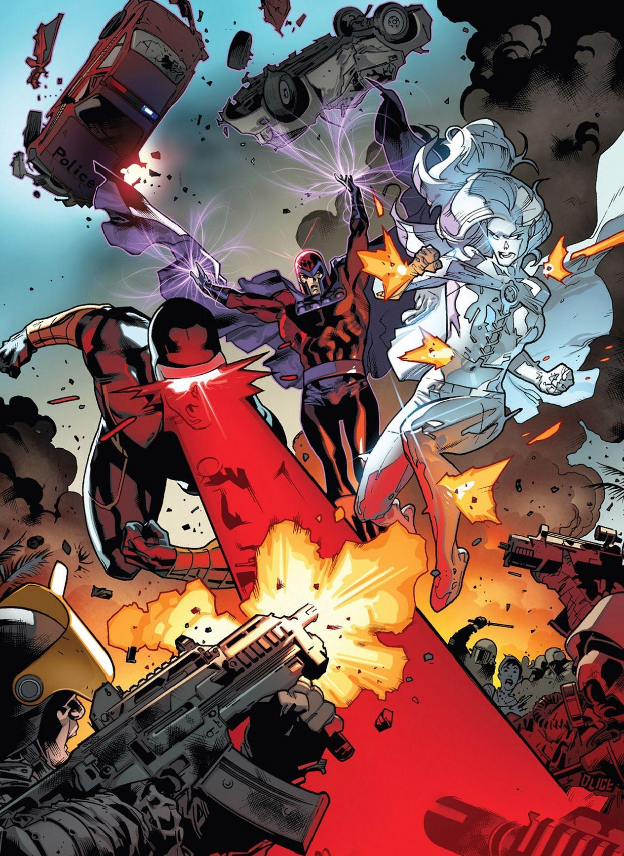 All New X Men 01 Int X Men Stuart Immonen Comic Book Artwork