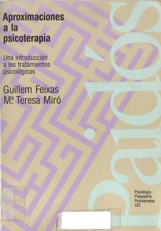aproximaciones a la psicoterapia feixas
