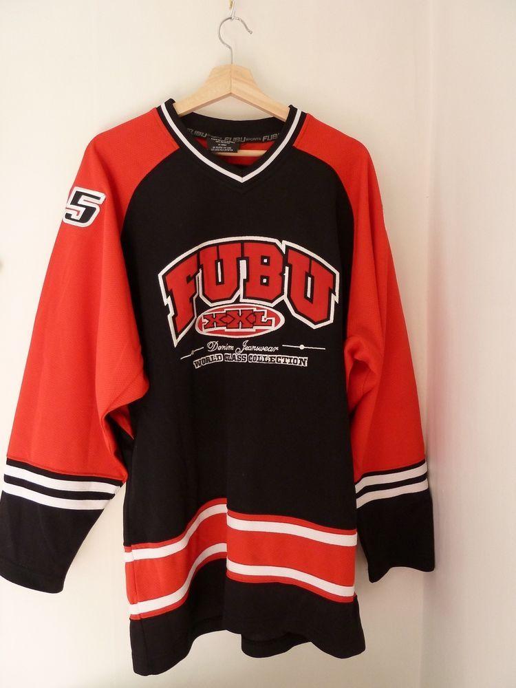 reputable site 073ad f59df Vintage FUBU jersey  Fubu