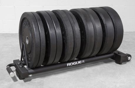 Rogue Horizontal Plate Rack 2.0 - Bumper Storage   Rogue Fitness #plateracks