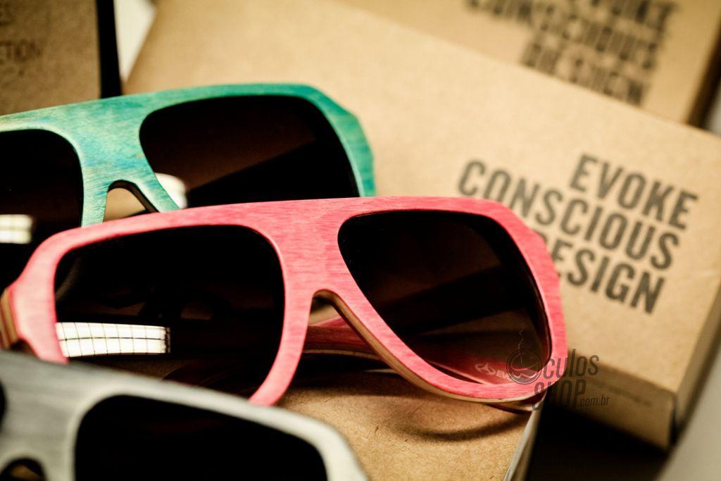 d1ab0529e Nova coleção da Evoke! Esse óculos é feito de madeira Maple. :)