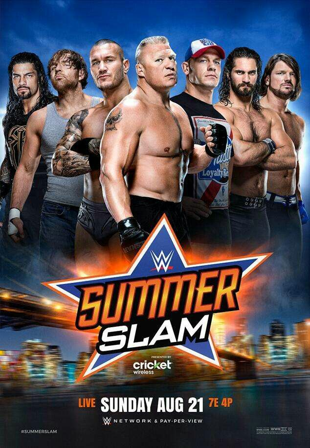 summerslam roman reigns dean