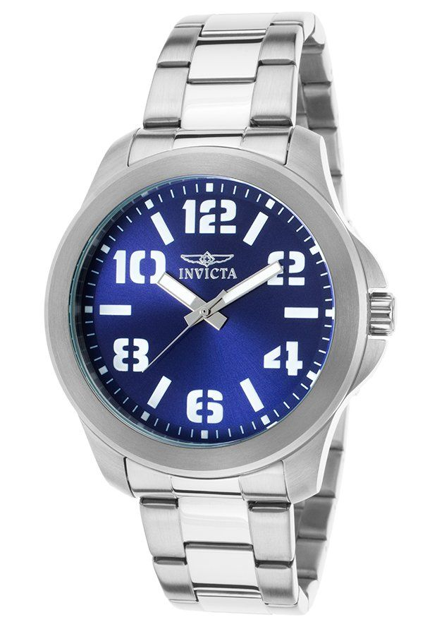 Invicta Watches Men's Specialty SS Blue Dial 21439,    #Invicta,    #21439,    #Dress