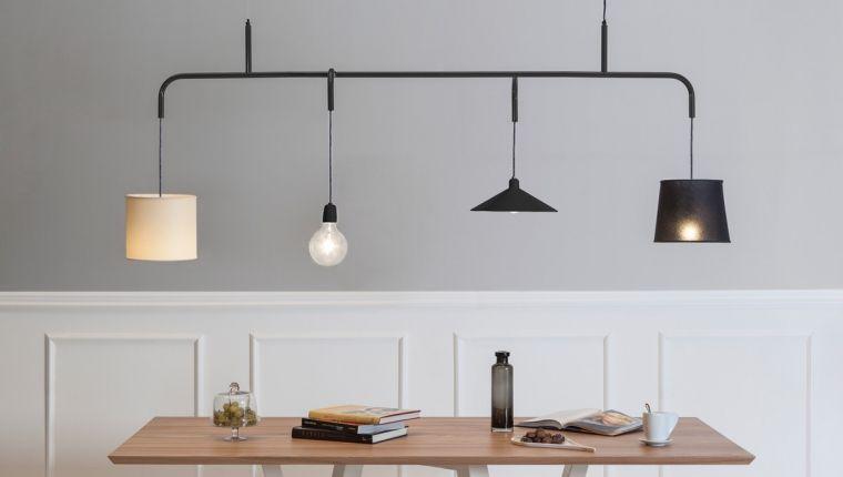Lampada a sospensione design per tavolo da pranzo e living