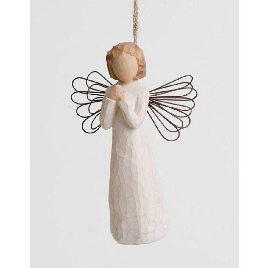 WILLOW TREE ORNAMENTS | Willow Tree Angel Of Wishes Hanging Ornament 26071 - Encouragement ...