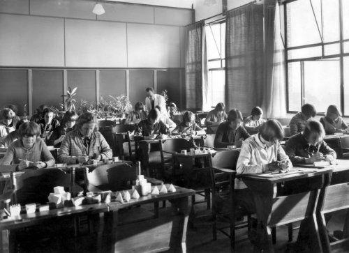 Philips bedrijfsschool klas