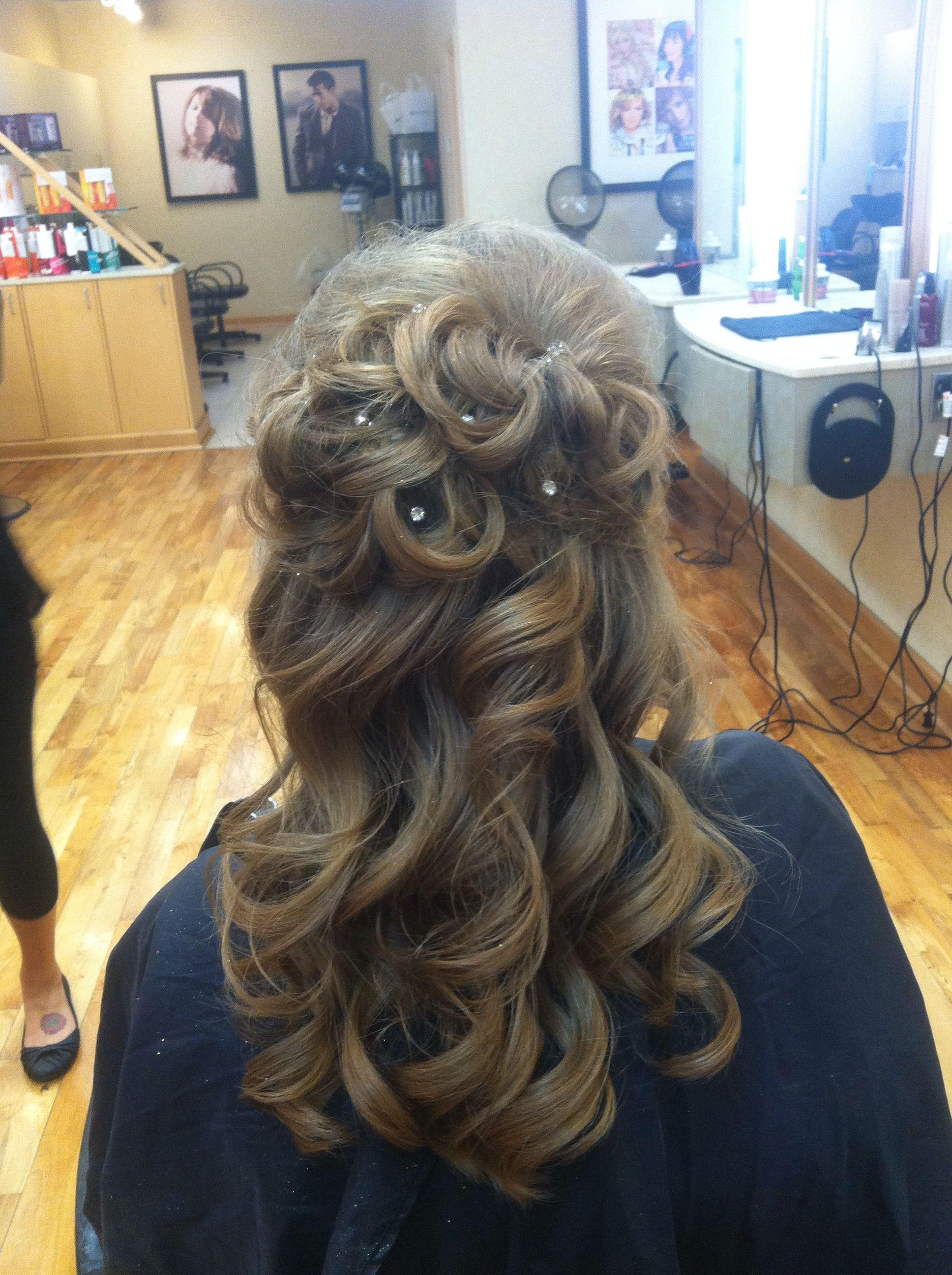 Haiirbymare hair prom updo curls blonde | Hair beauty ...
