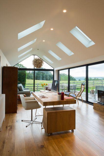 Contemporary Cottage Extension - Modern - Arbeitszimmer - Sonstige