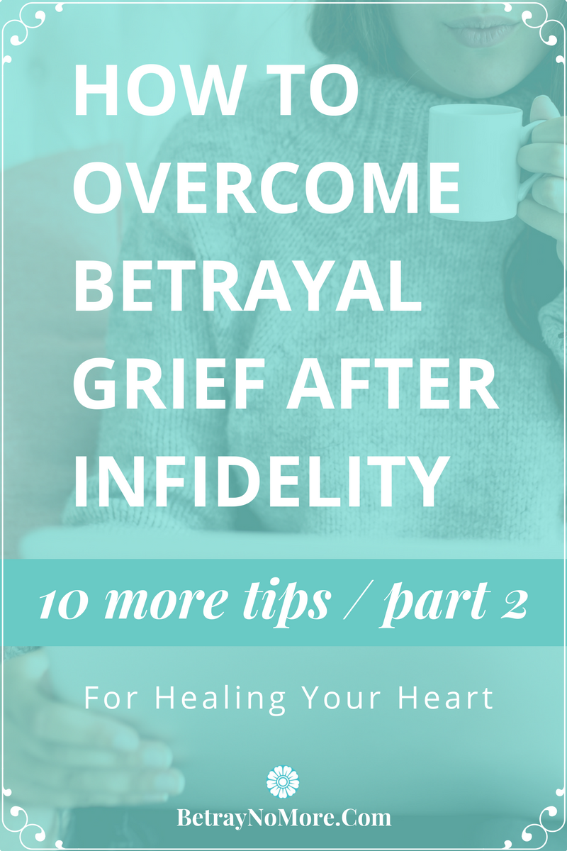how to cope with betrayal