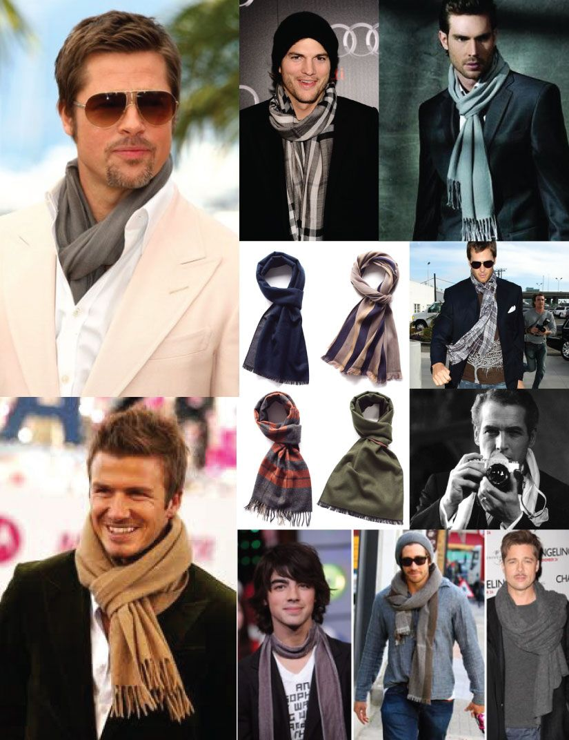 How to knit a wear scarf men forecasting to wear for winter in 2019