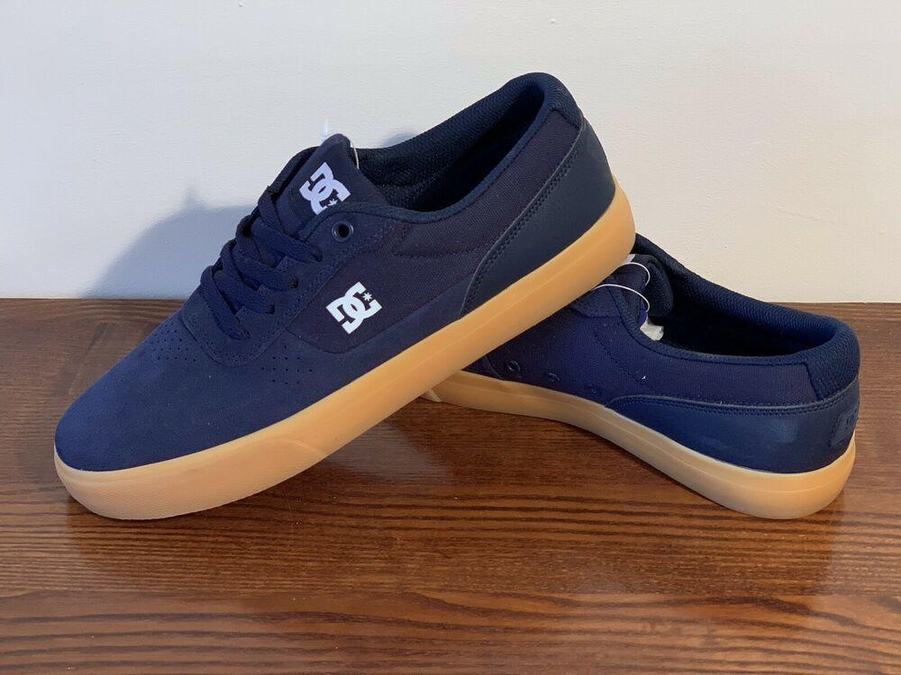 Men DC Shoes Switch Lace Up Skate Shoes