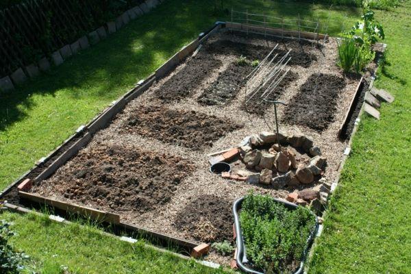 Gemüsebeet planen - Tipps für praktisch orientierte Gärtner! - Archzine.net #terassegestalten