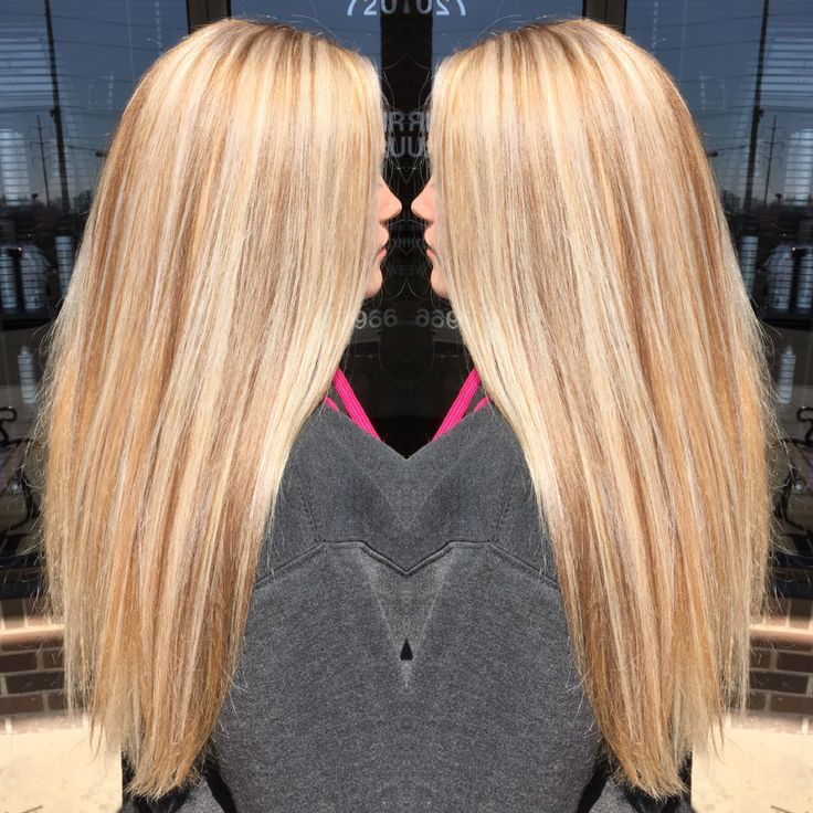 Image Result For Blonde Hair With Blonde Highlights And Golden