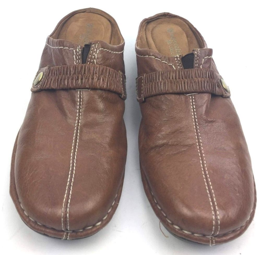 b606ebfd729e Naturalizer Women Shoes Slip On N5 Comfort Size 9 M Leather Brown Upper  Used  Naturalizer  Comfort