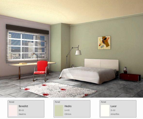 Rompe con la monoton a de tu habitaci n con esta propuesta - Diseno de casas interiores ...