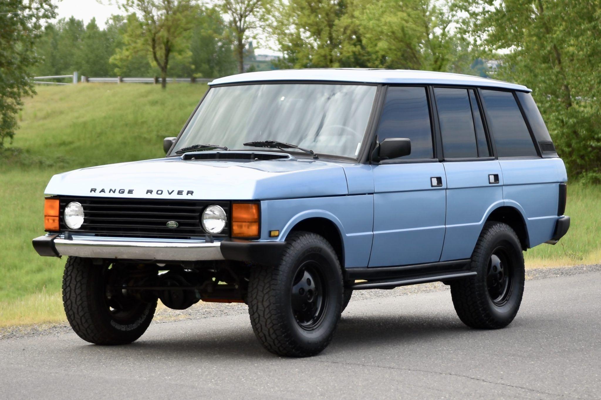 1990 Land Rover Range Rover Classic SWB in 2020 Range