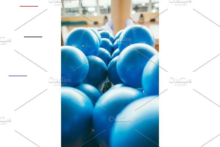 big blue rubber balls in the gym #Background, #Gym, #Ball, #Sport, #Fitness, #Man, #Yoga, #Healthy,...