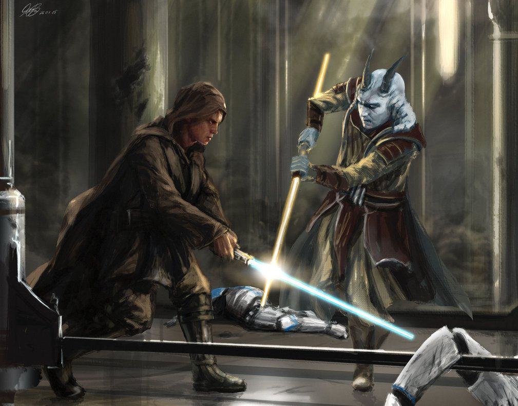 Commission Painting Jedi Temple Assault By Entar0178 On Deviantart Star Wars Awesome Star Wars Images Star Wars Pictures