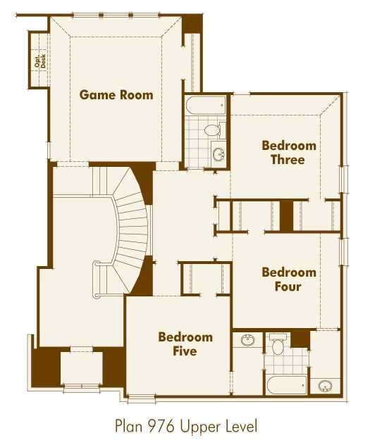 Highland Homes Floor Plan 246