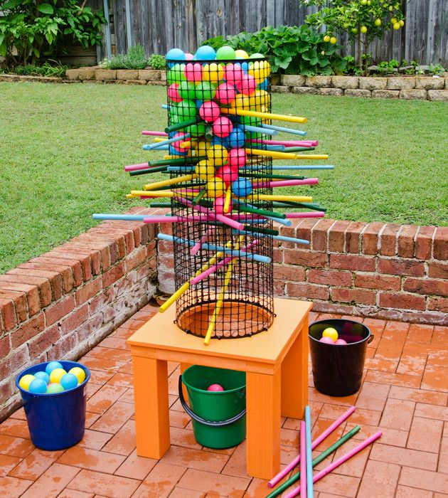 Better Homes And Gardens Outdoor Kerplunk Family Game Pattern Sheet