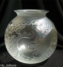 """VASE KRISTALL LALIQUE """"XIAN"""" ca.20cm HOCH SEHR GUT ZUSTAND NO BOX SORRY"""