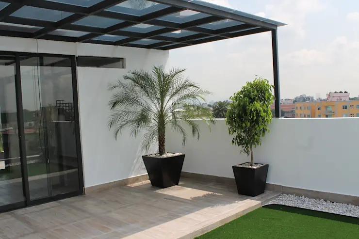 Más de 20 ideas de terrazas que puedes hacer en tu azotea