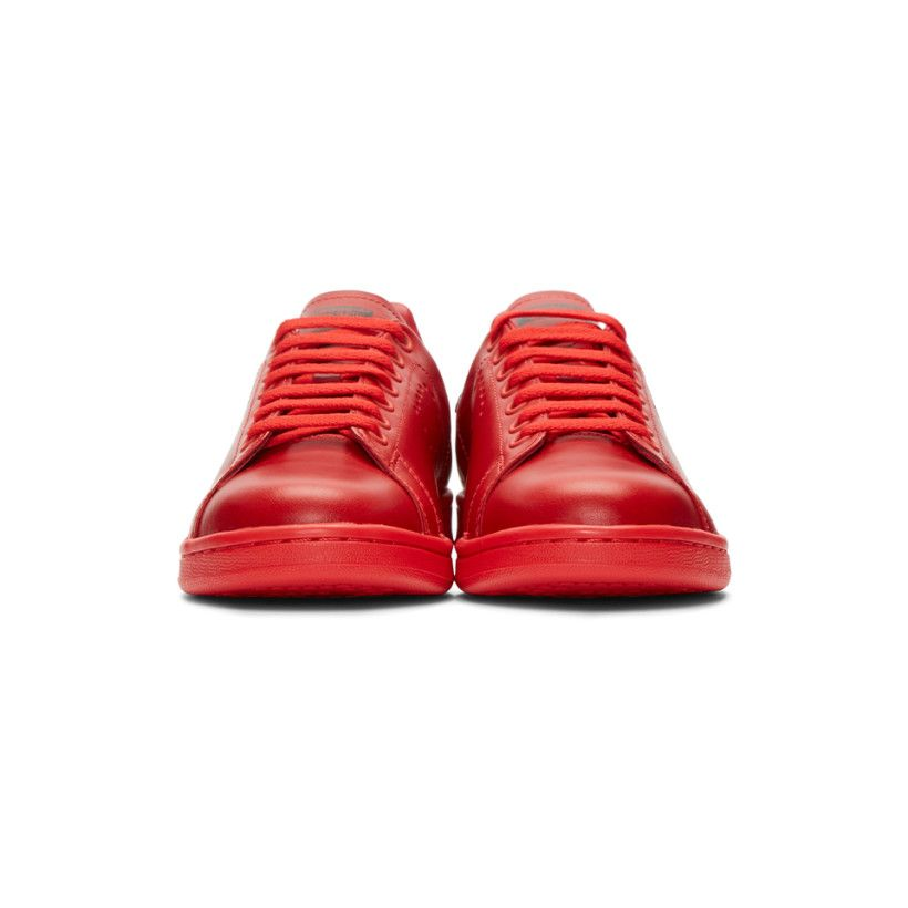 Raf Simons Red adidas Edition adidas Raf Stan Smith Sneakers 19902 | cc8f79e - sfitness.xyz
