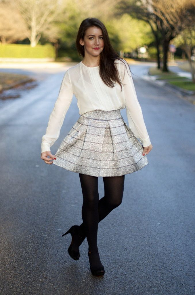 j.crew blouse//devlin skirt//prada tote//dkny tights//gucci shoes//cartier watch I don't usually wear a lot of metallics. I like to purchase pieces that I know I can wear at least a handful of times and more often than not metallics don't fall … Continue reading →