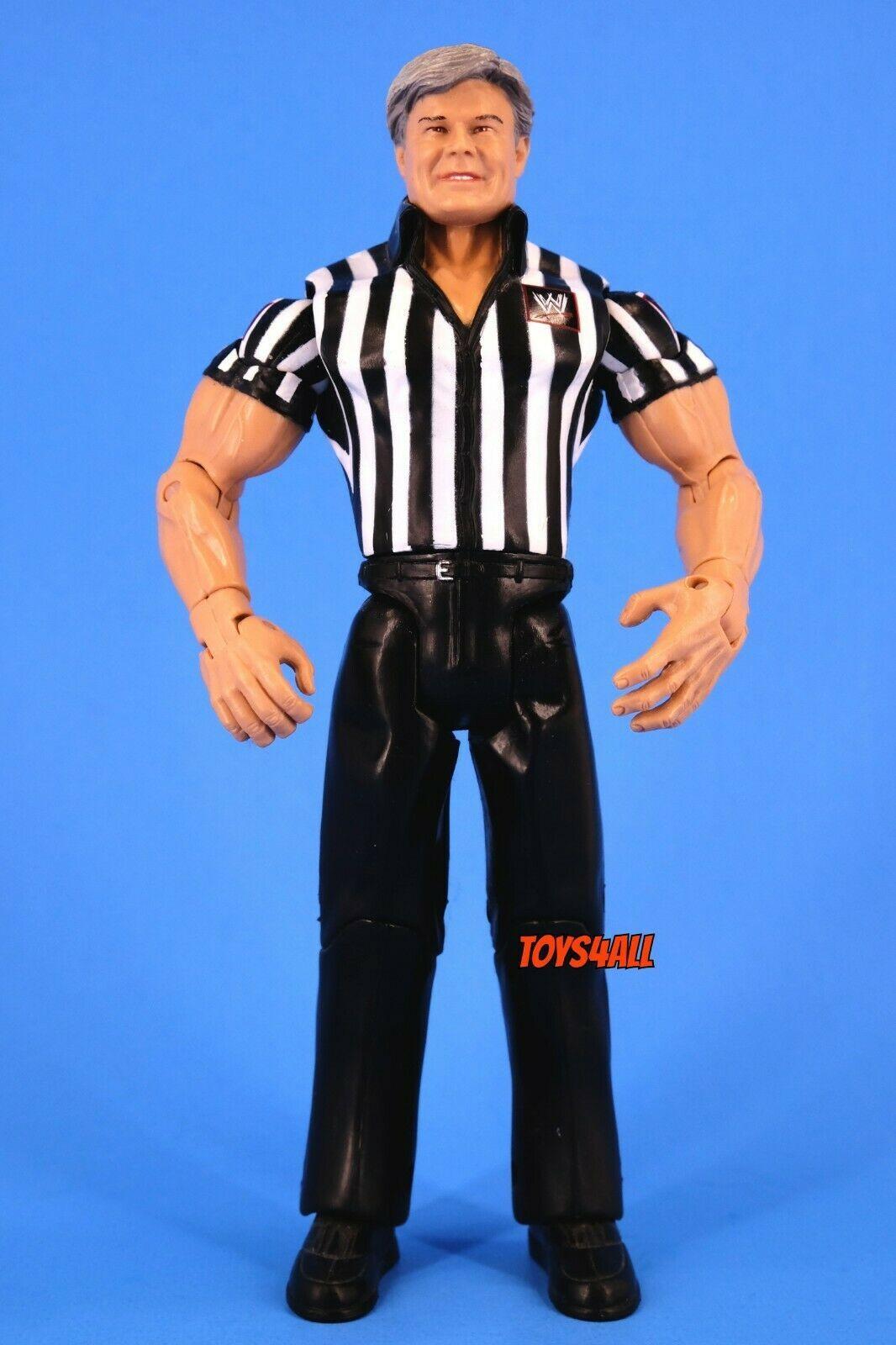 Referee Eric Bischoff WWE Jakks Ruthless Aggression