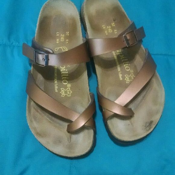 1f8c096291f Birkenstock Mayari Tabora 37 Selling the highly sought after (and super  comfortable!)