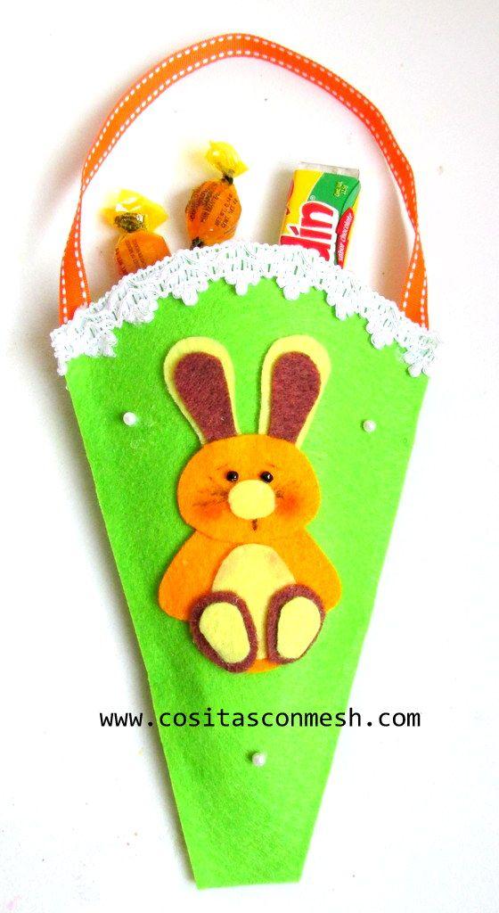 7 Manualidades De Pascua En Fieltro Diy Pascuas Pinterest
