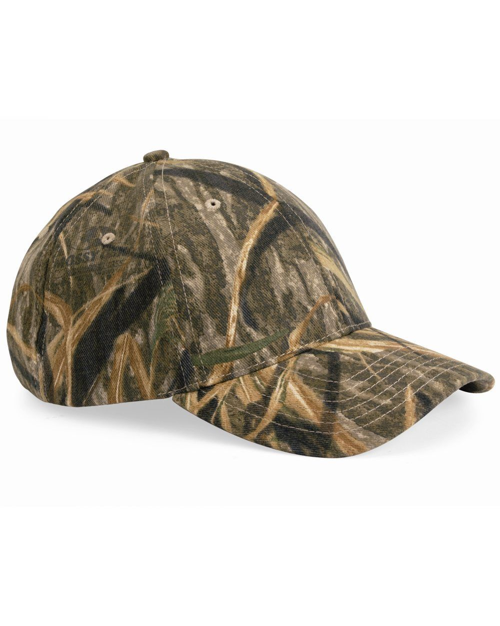 Kati Structured Mid Profile Mossy Oak Camouflage Cap Mens Hat LC10