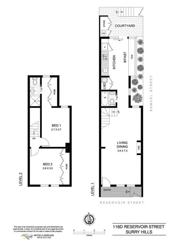 Just one more i promise an end of row corner terrace for Narrow row house floor plans