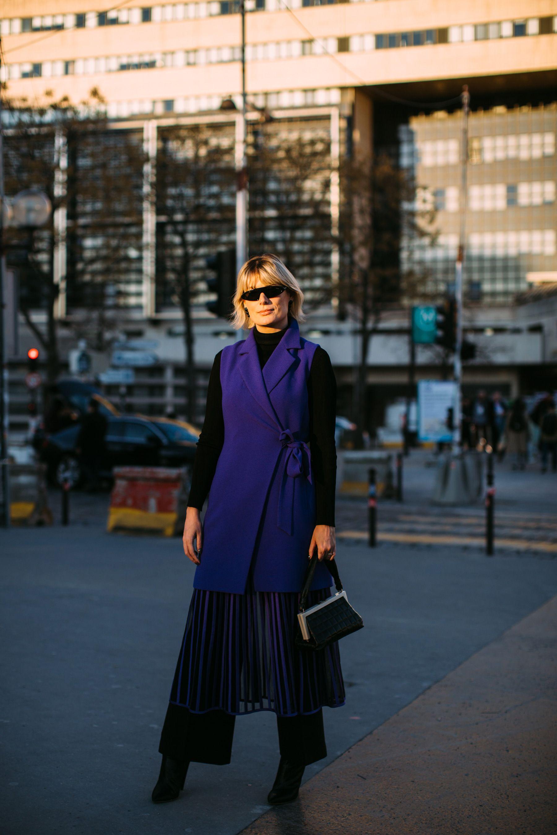 Paris Fashion Week Street Style Fall 2019 Day 1 Wardrobe Fashion