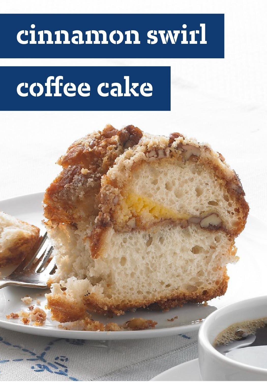Cinnamon Swirl Coffee Cake Recipe Recipe Coffee Cake Recipes Cake Recipes Coffee Cake