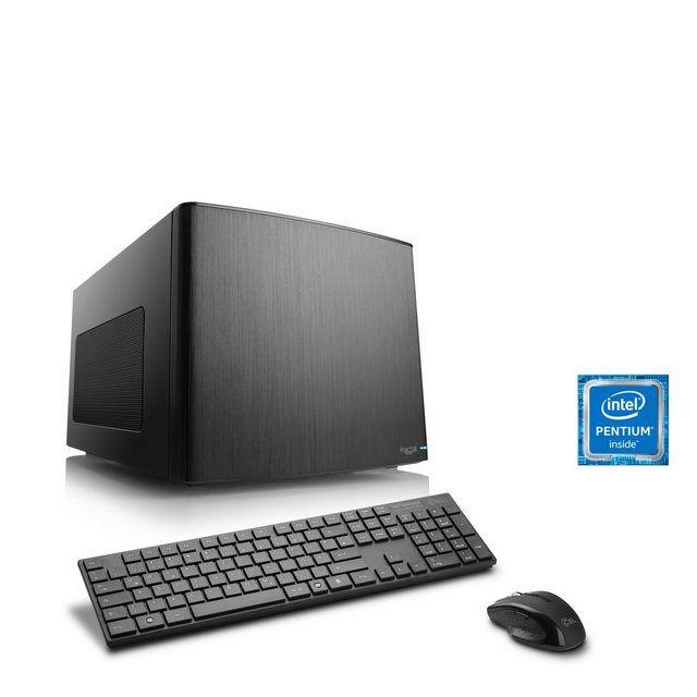 Mini-ITX PC | Pentium G4560 | Intel HD 610 | 8 GB DDR4 | SSD »Multimedia Box T1893 Windows 10« #windows10