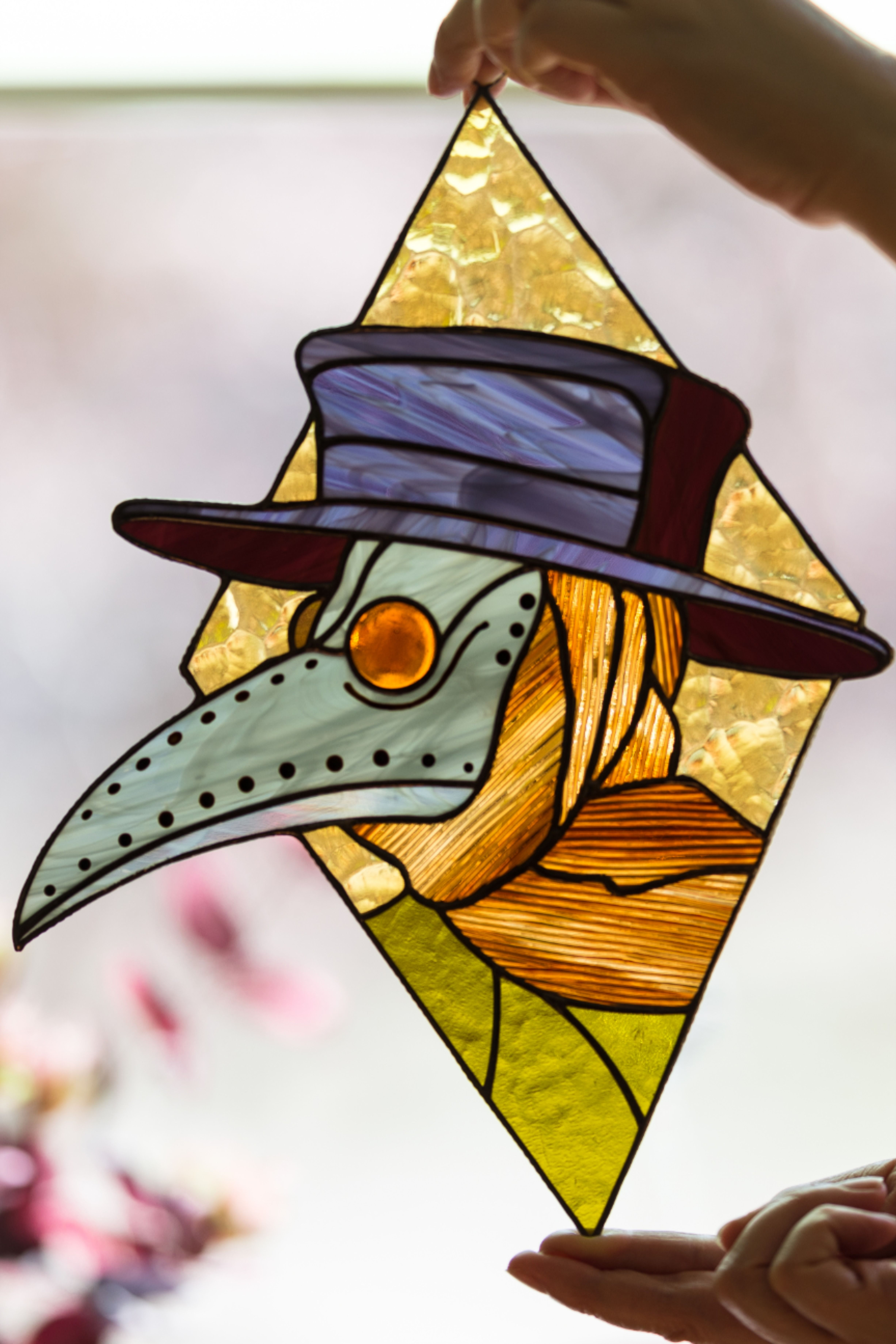 Pin on STAINED GLASS SUNCATCHERS