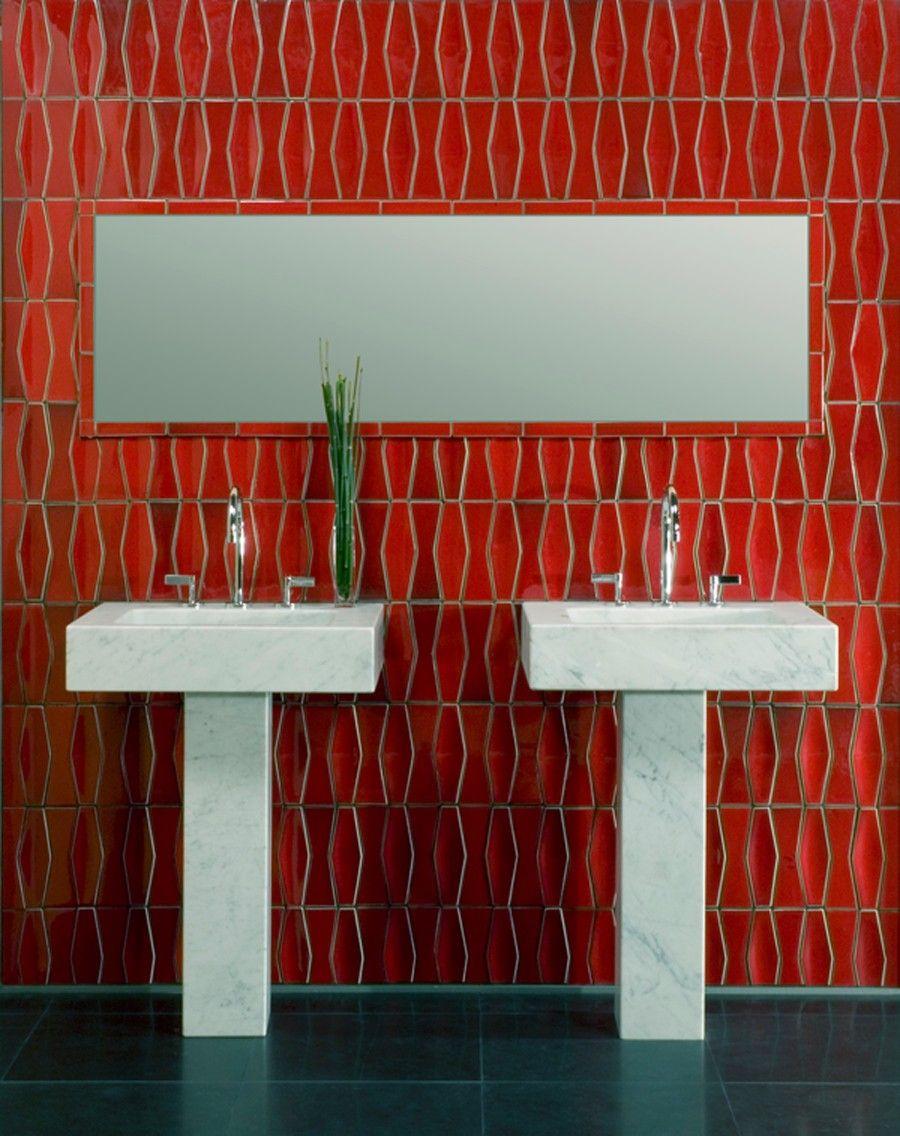 dimensional tiles by heath ceramics heath ceramics glazed