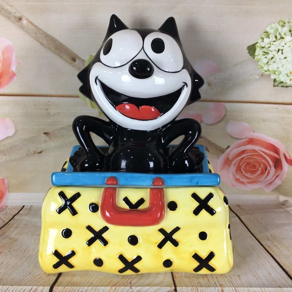 Felix the Cat Magic Bag Felix South San Francisco Clay Art 1275