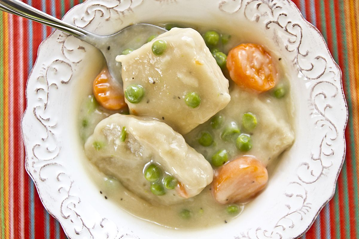 ChickenLESS Dumpling Soup     |     Save recipes from anywhere on your iPhone or iPad with @RecipeTin – without typing them in! Find out more here: www.recipetinapp.com      #recipes #vegan #soups