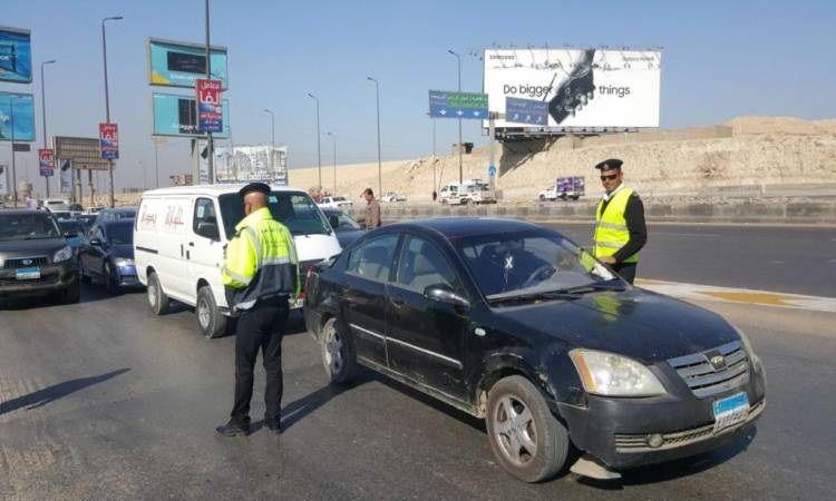 حملات مرورية مكثفة Car Cars