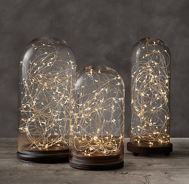 RH's Twinkly Starry Lights - Diamond Lights on Silver Wire:Our ...