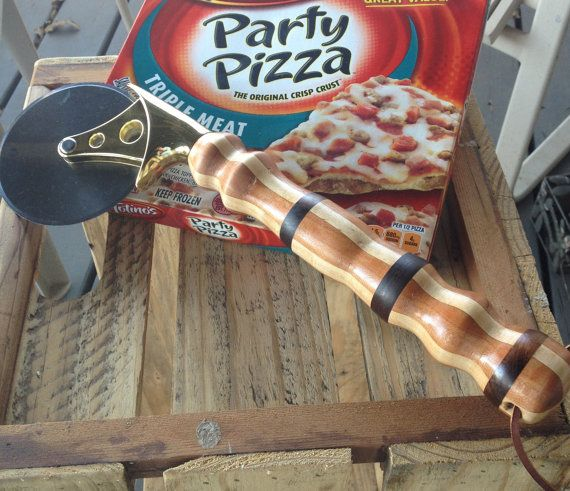 Large heavy duty pizza cutter with by EventristCreations on Etsy