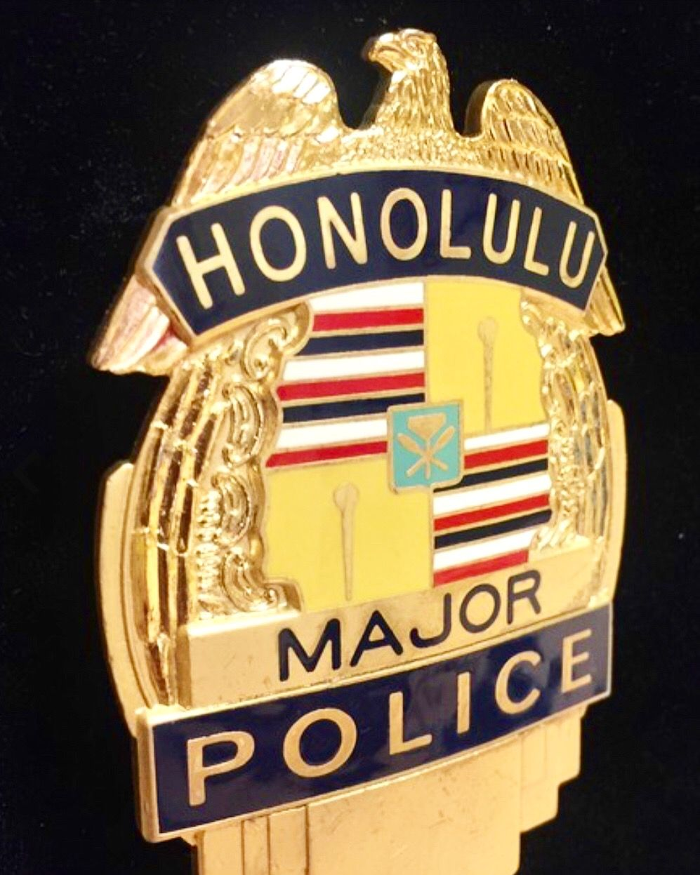 Honolulu Police Badge
